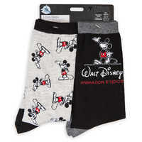 Image of Mickey Mouse Walt Disney Animation Studios Socks for Adults - 2-Pack # 3