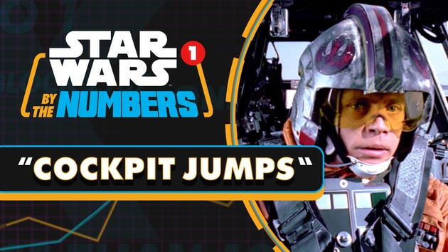 Every Time Someone Jumps Into a Cockpit in the Star Wars Movies | Star Wars By the Numbers