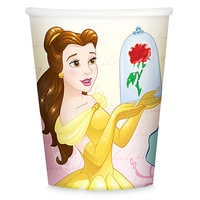 Beauty and the Beast Paper Cups