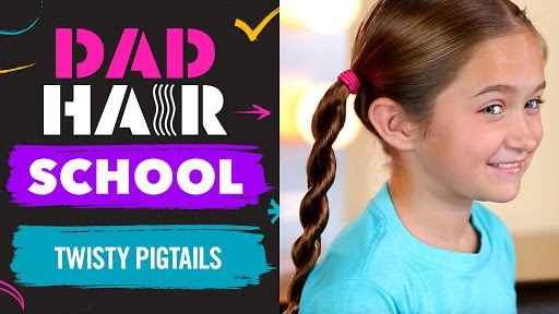 Twisty Pigtails | Dad Hair School  | Babble