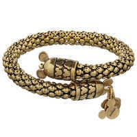 Image of Mickey Mouse Metal Wrap Bracelet by Alex and Ani # 2