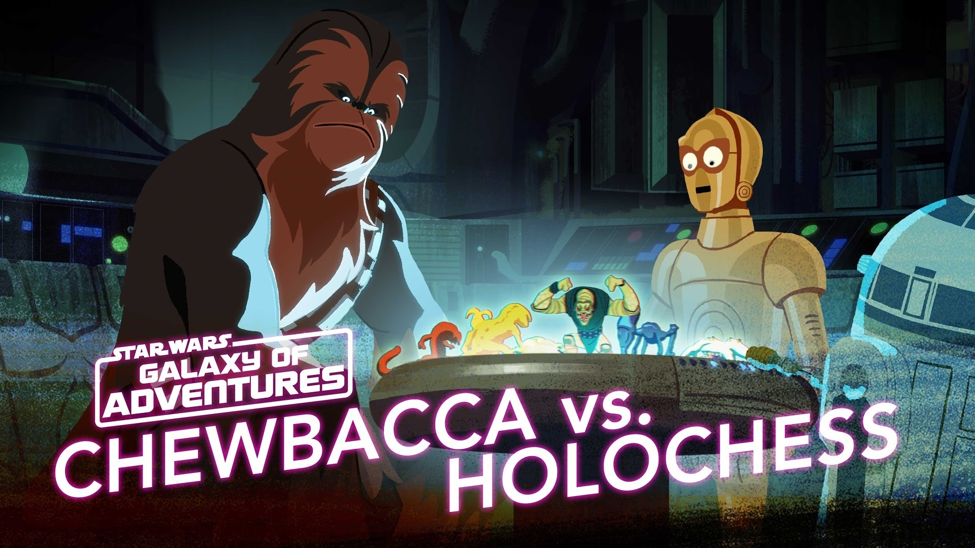 Chewie vs. Holochess – Let The Wookiee Win | Star Wars Galaxy of Adventures