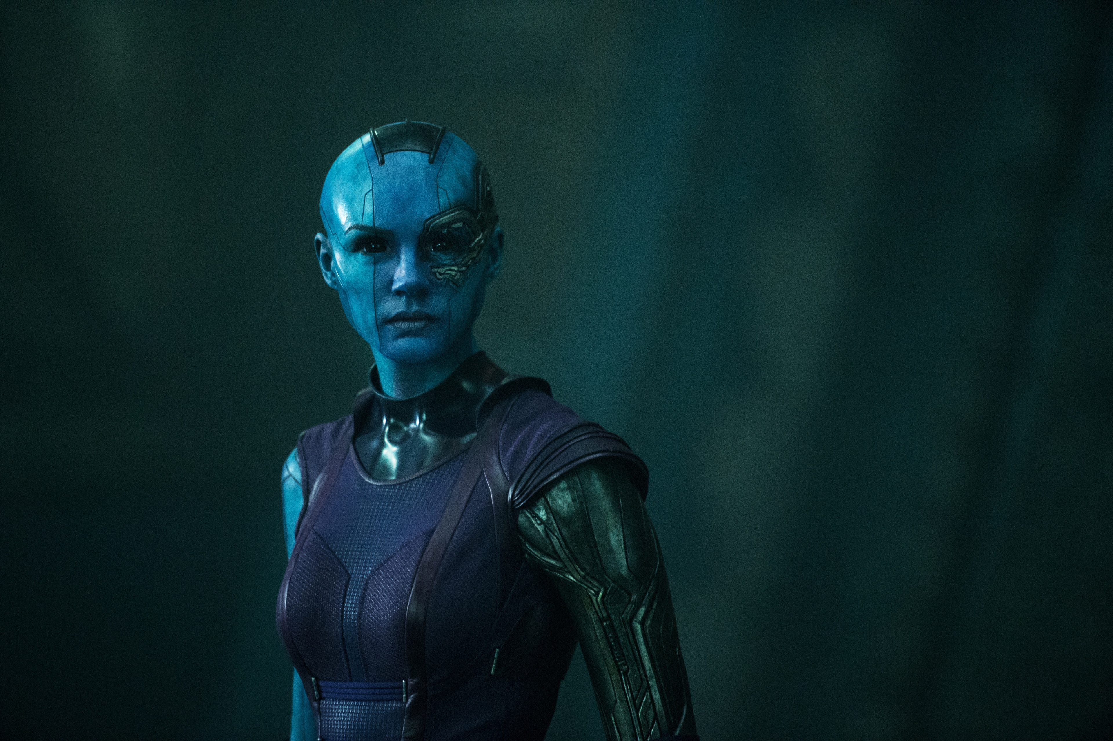 Nebula with robotic arm in Guardians of the Galaxy