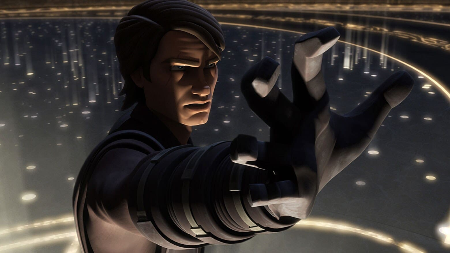 STAR WARS LA VENDETTA DEI SITH Anakin Skywalker Action Figure no2