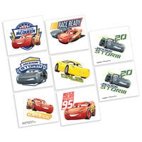 Image of Cars 3 Tattoos - 2 Pack # 1