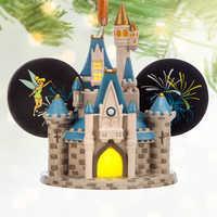 Image of Cinderella Castle Light-Up Ear Hat Ornament - Walt Disney World # 2