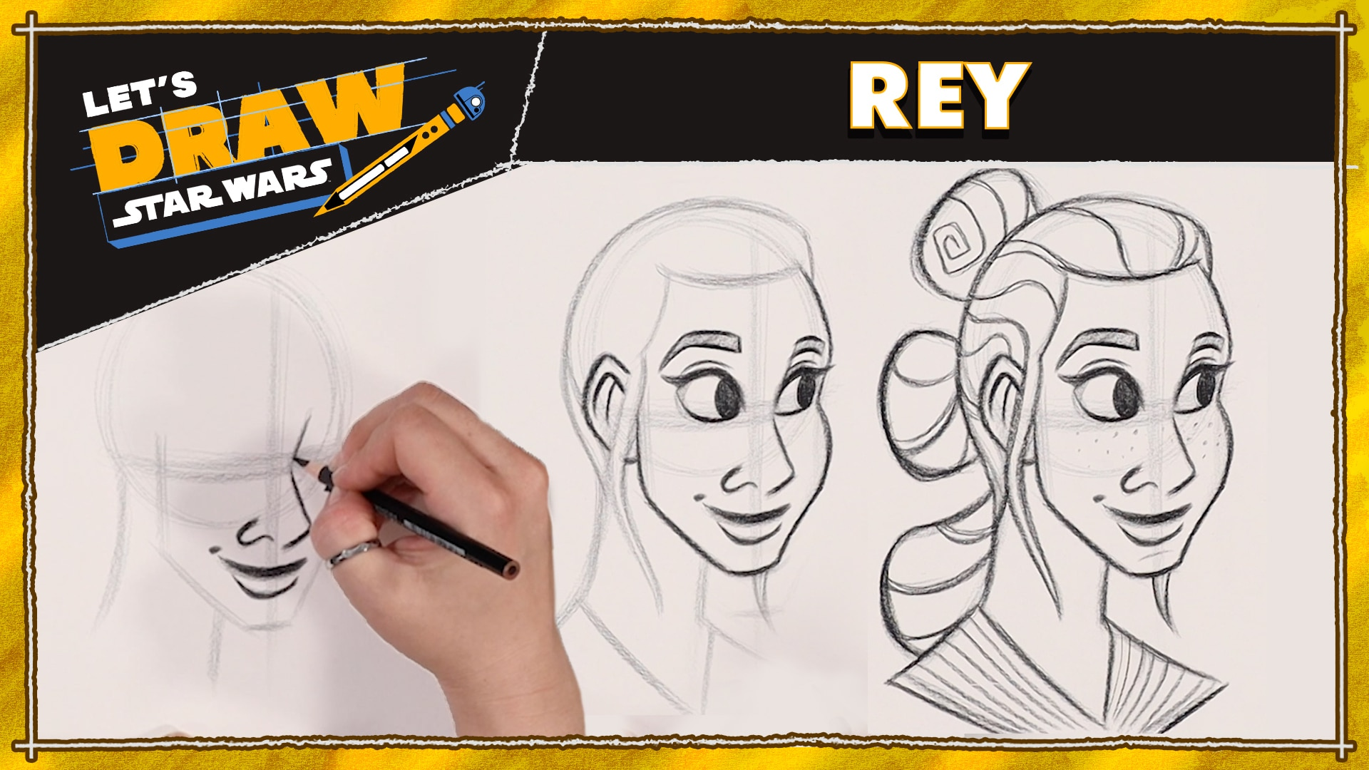 Let's Draw! Rey