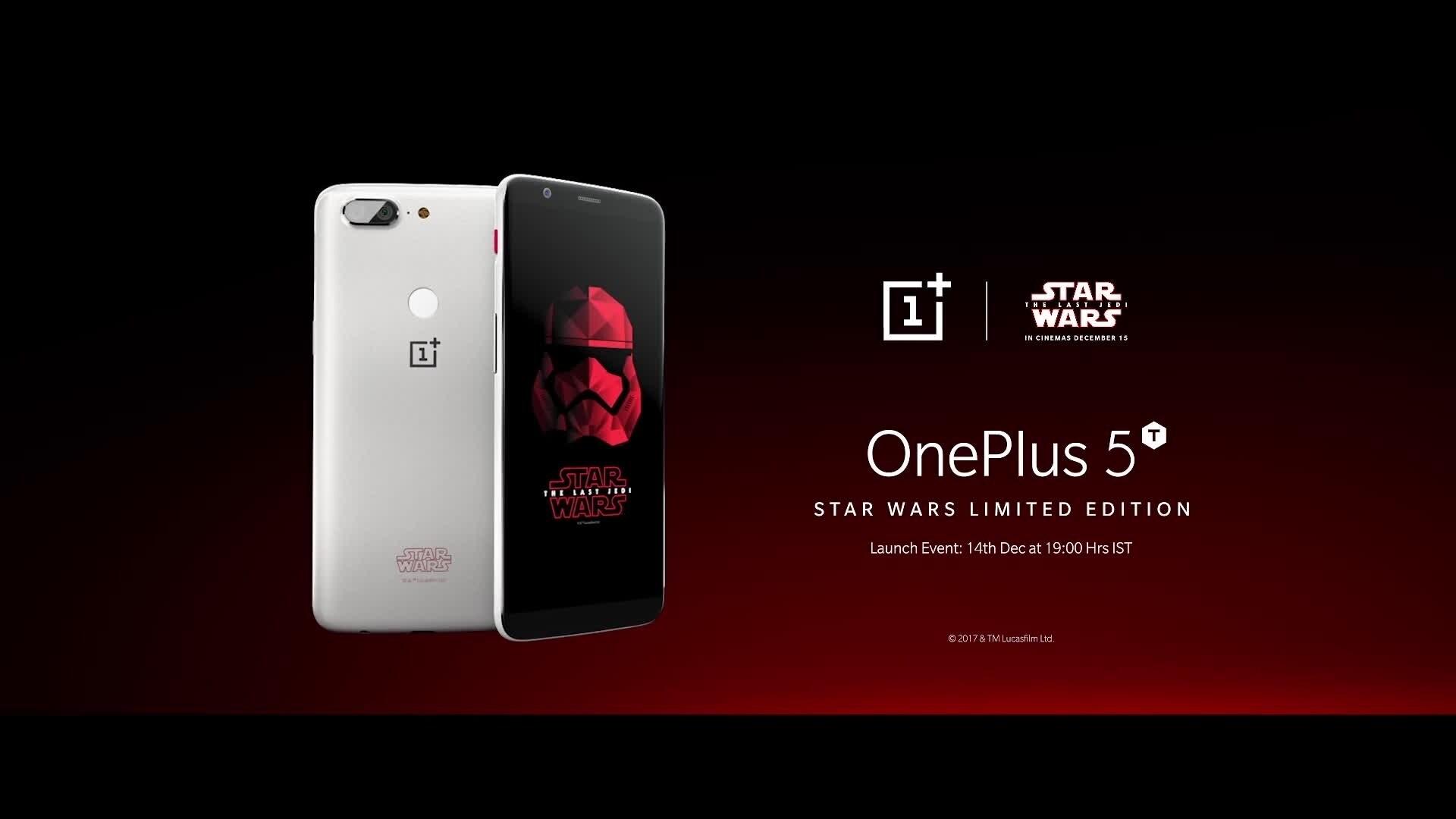One Plus x Star Wars The Last Jedi IN