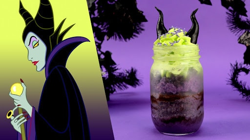 Maleficent Cake Jars Recipe | Disney Family