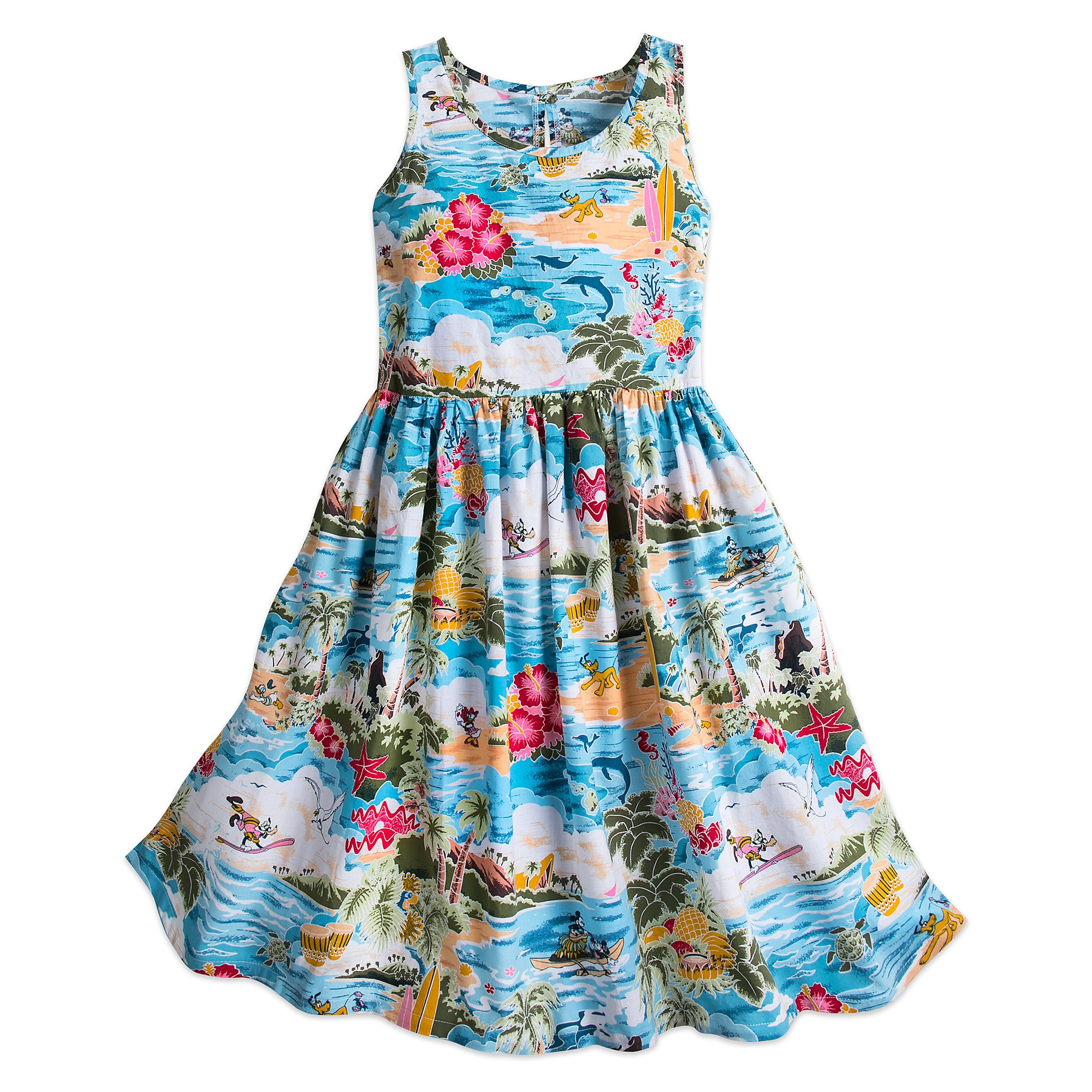 Mickey Mouse and Friends Hawaiian Dress for Women | shopDisney