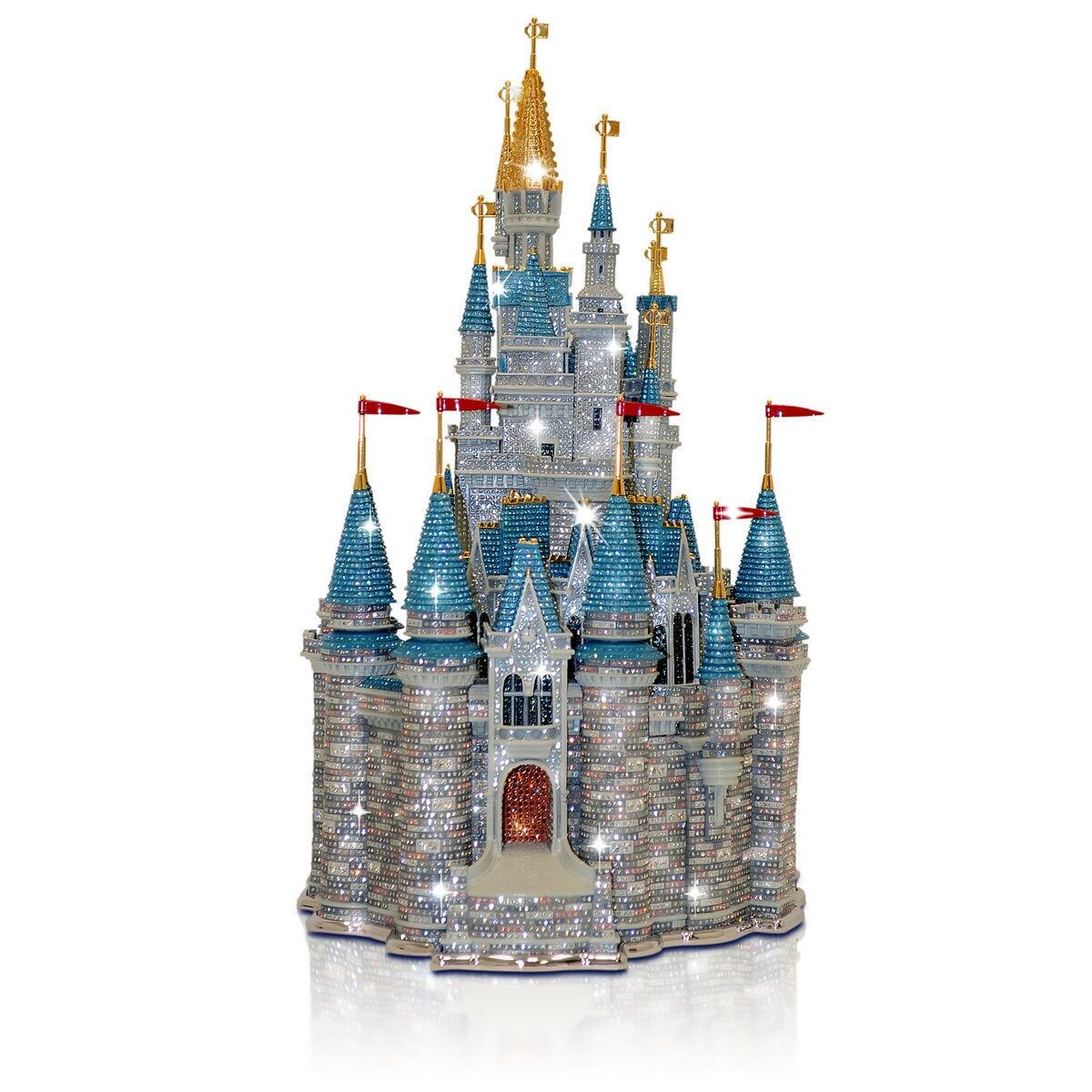 Walt Disney World Cinderella Castle Sculpture By Arribas Brothers