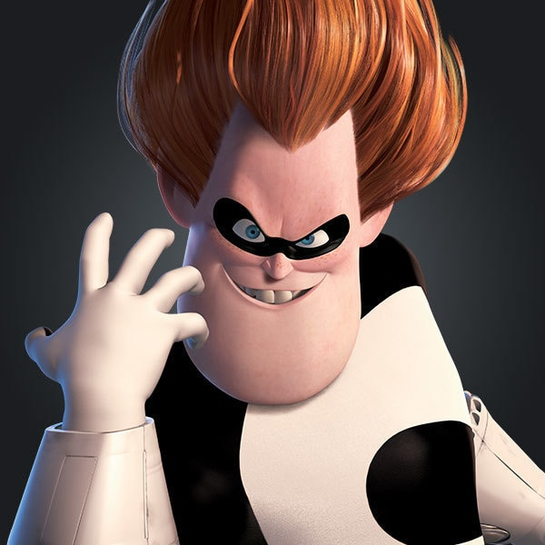 Syndrome / Buddy Pine, voiced by Jason Lee, in The Incredibles