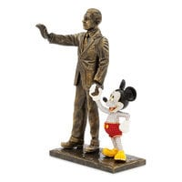 Walt Disney and Mickey Mouse ''Partners'' Figure by Arribas Brothers - Limited Edition