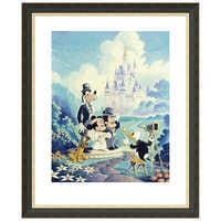 Image of ''Mickey and Minnie Wedding'' Giclée by Randy Souders # 3