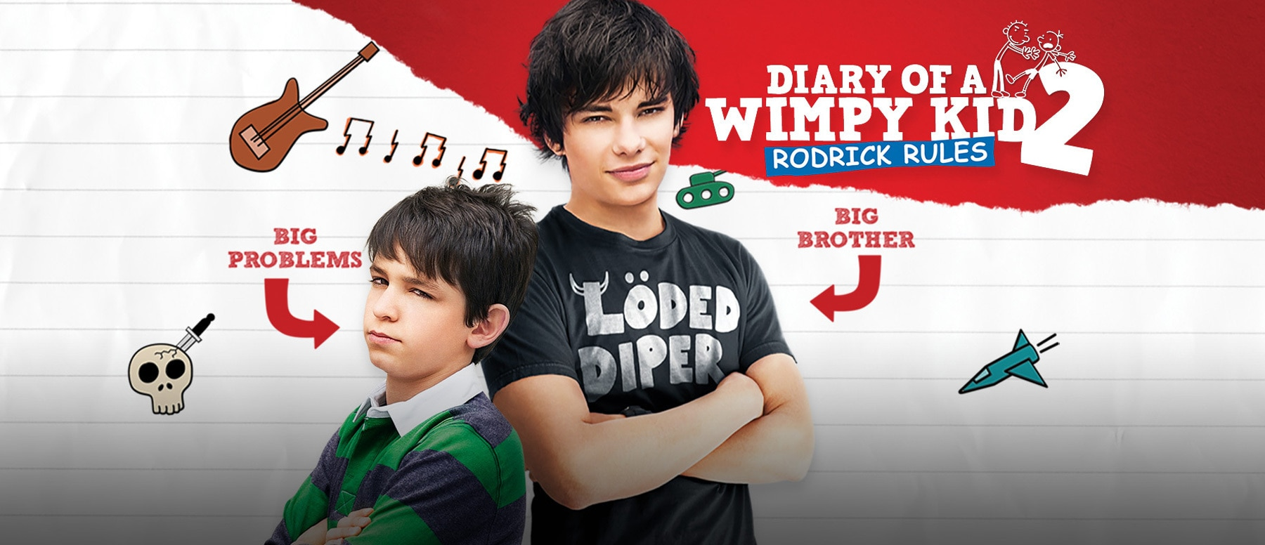 Diary of a Wimpy Kid: Rodrick Rules Hero