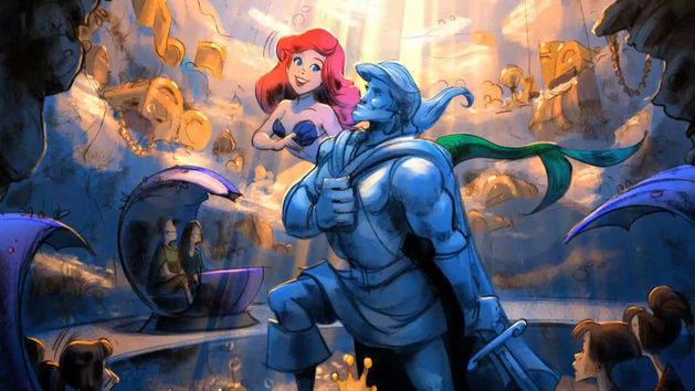 Ariel's Undersea Adventure in Fantasyland