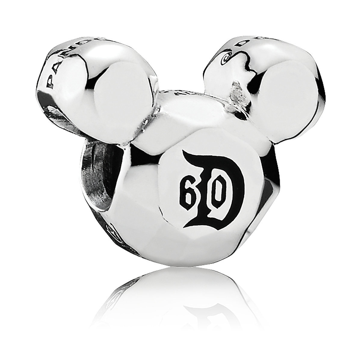 59241dd02 Product Image of Mickey Mouse Disneyland 60 Year Anniversary Charm by Pandora  Jewelry # 1