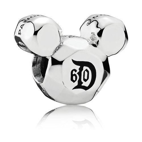 Mickey Mouse Disneyland 60 Year Anniversary Charm by PANDORA