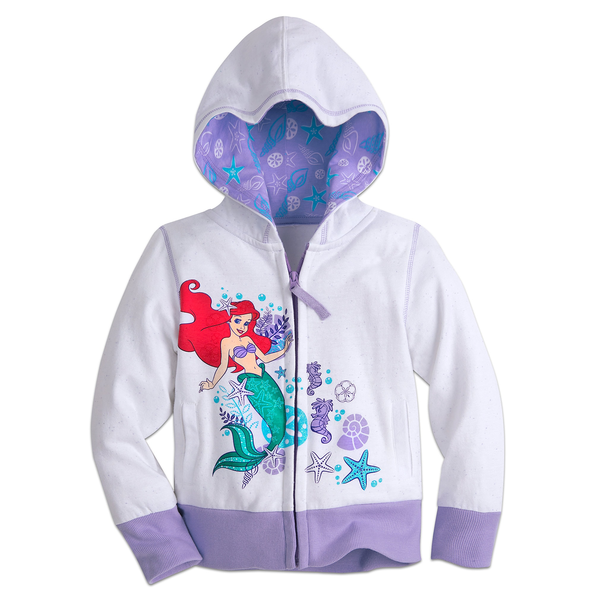 Ariel Zip Hoodie for Girls