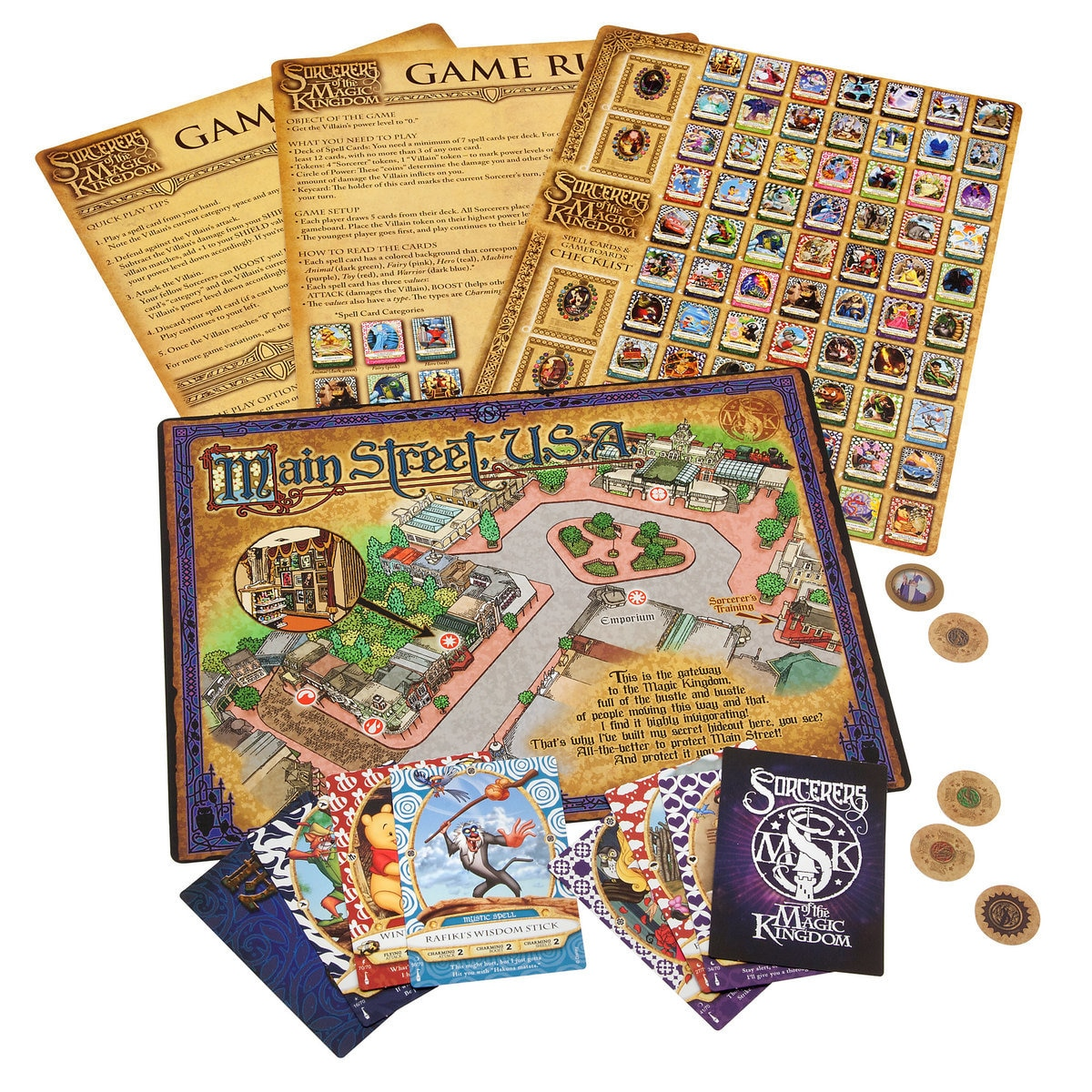 Sorcerers of the Magic Kingdom Card Pack