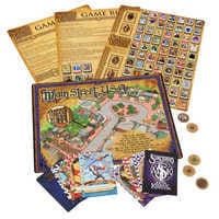 Image of Sorcerers of the Magic Kingdom Trading Card Home Game and Gameboard # 2