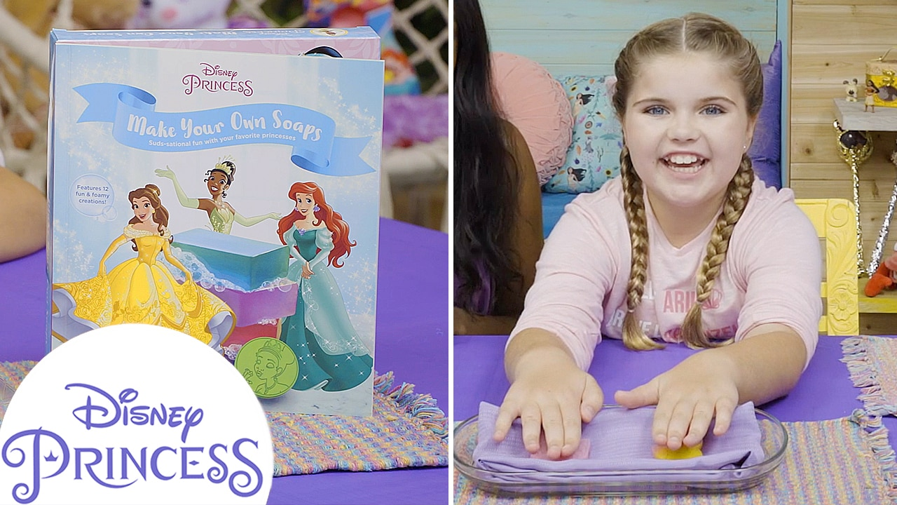 Make Your Own Princess-Inspired Soap! | Disney Princess