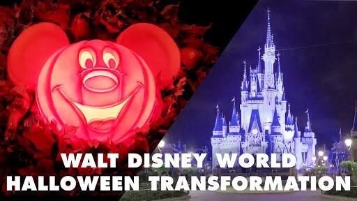 Walt Disney World Halloween Transformation