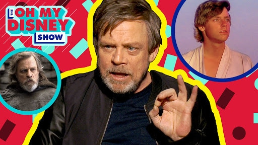 Mark Hamill on Stars Wars: Then and Now | Oh My Disney Show