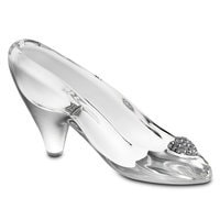 Cinderella Glass Slipper by Arribas - Medium - Personalizable