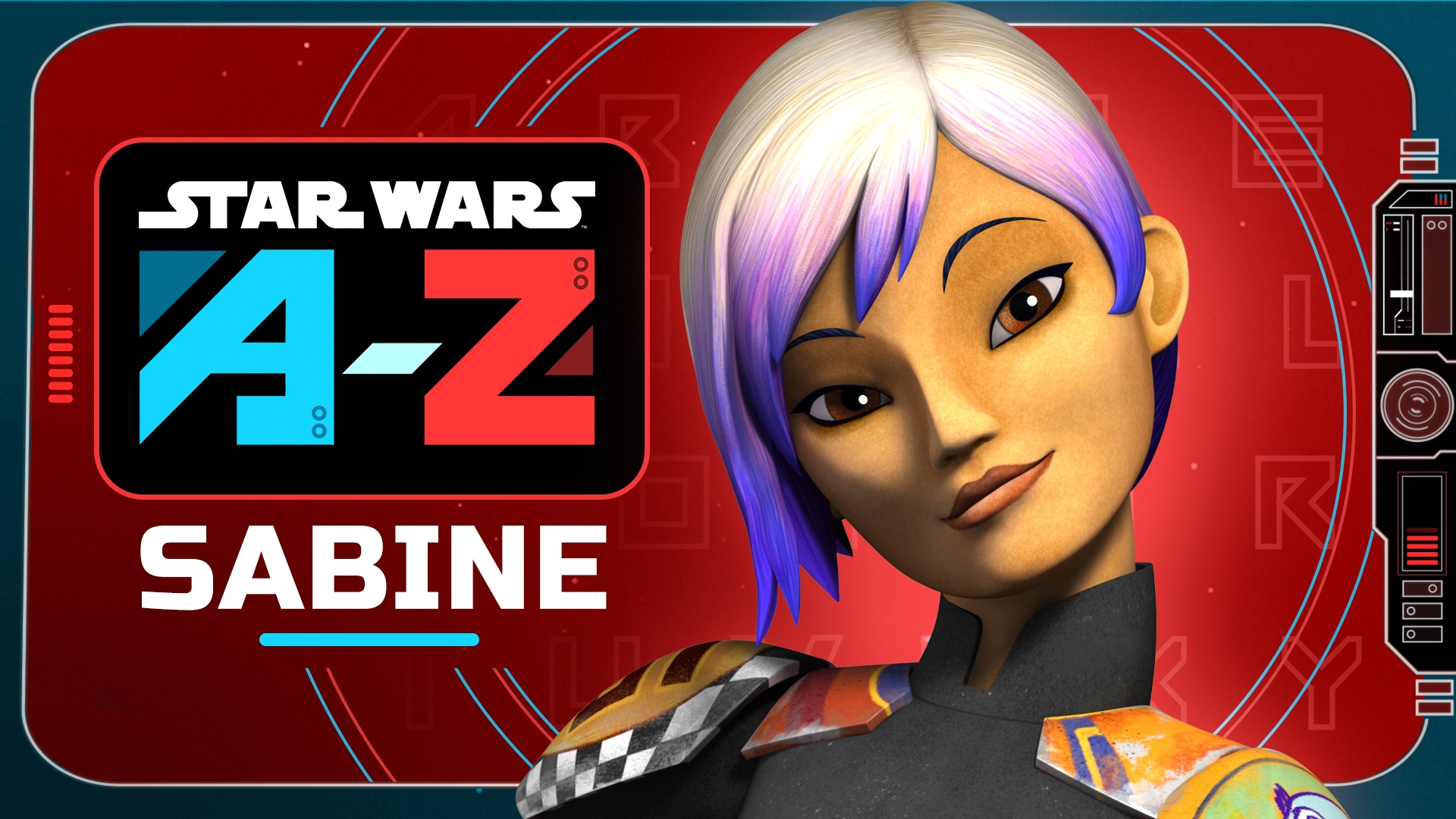 Sabine | Star Wars A to Z