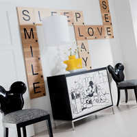 Image of Mickey Mouse Everywhere Chair by Ethan Allen # 3