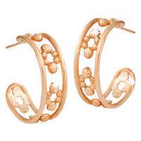 Image of Mickey Mouse Hoop Earrings - 18K # 4