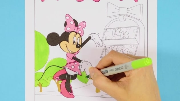 Minnie's Bowtique | Disney Junior Colouring Club