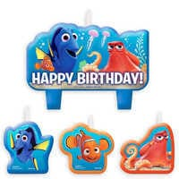 Image of Finding Dory Birthday Candle Set # 1