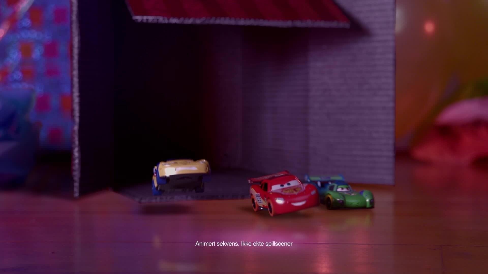Stue-racet - Cars Daredevil Garage