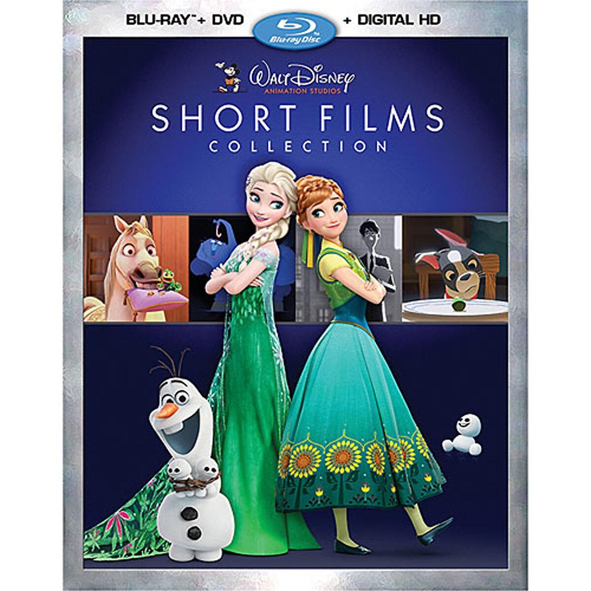 Walt Disney Animation Studios Short Films Collection Blu Ray Combo
