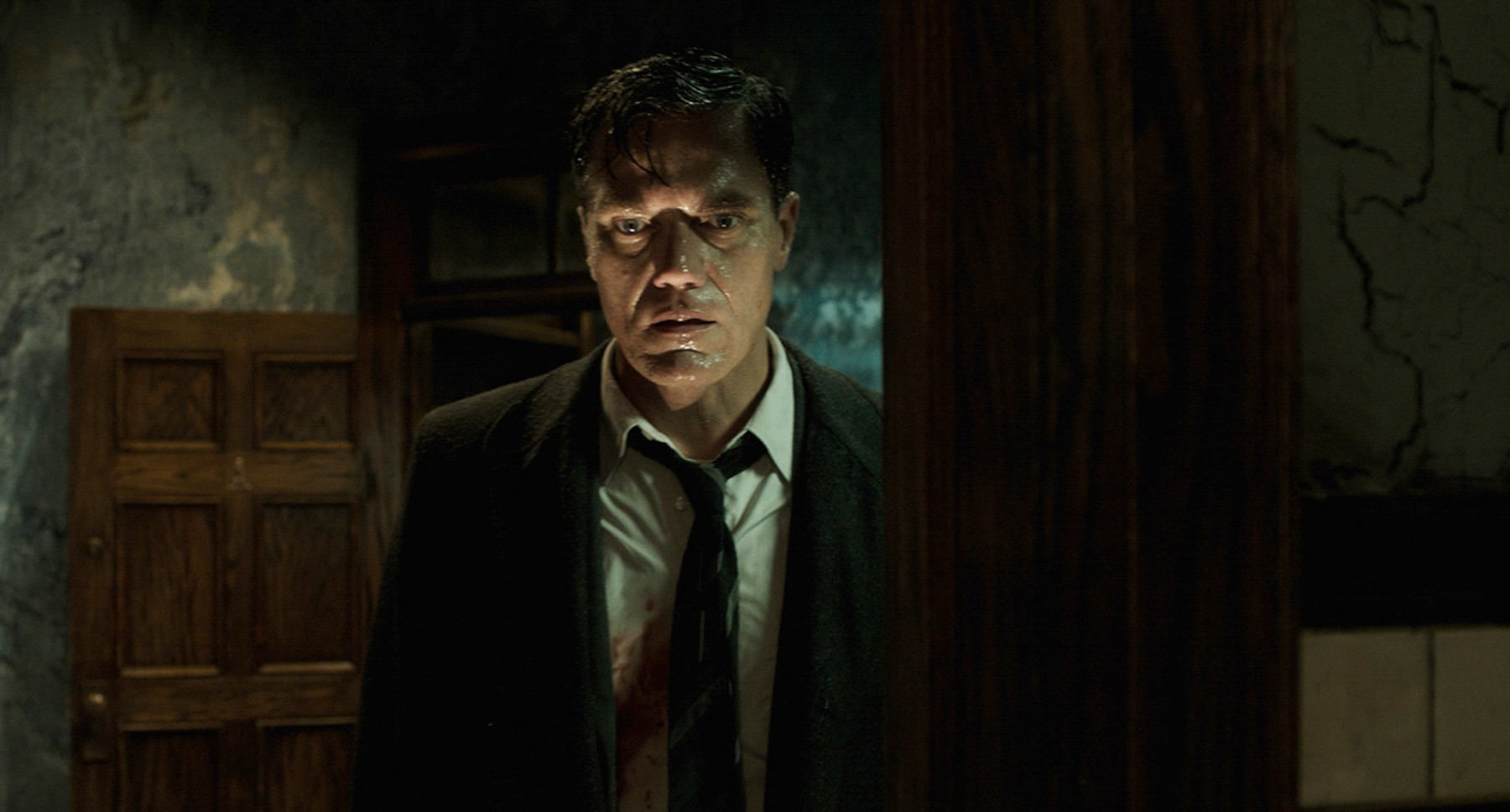 "Michael Shannon as Richard Strickland in ""The Shape of Water"""