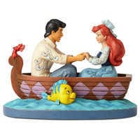 Image of The Little Mermaid ''Waiting for a Kiss'' Figure by Jim Shore # 1