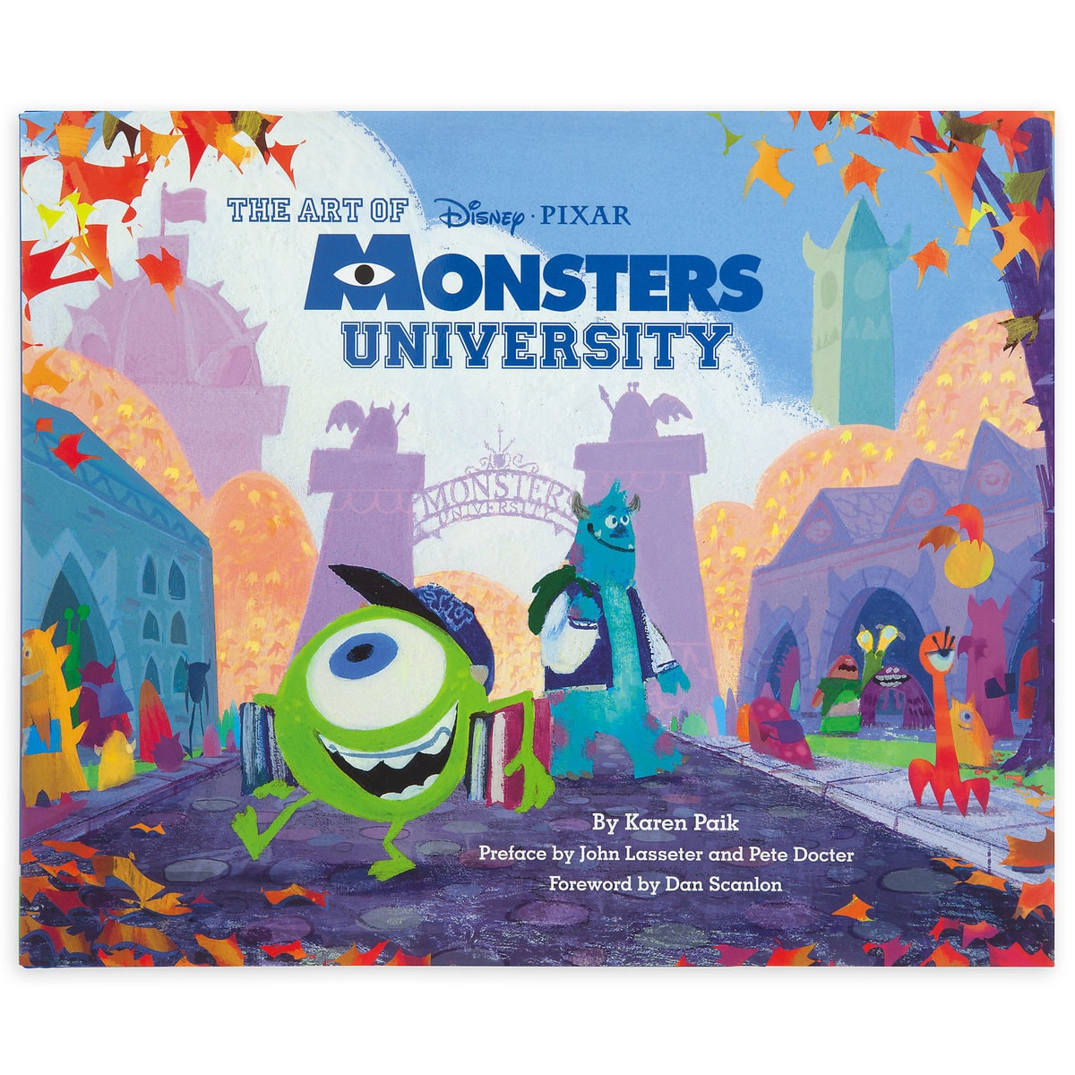 The art of monsters university book shopdisney the art of monsters university book voltagebd Gallery