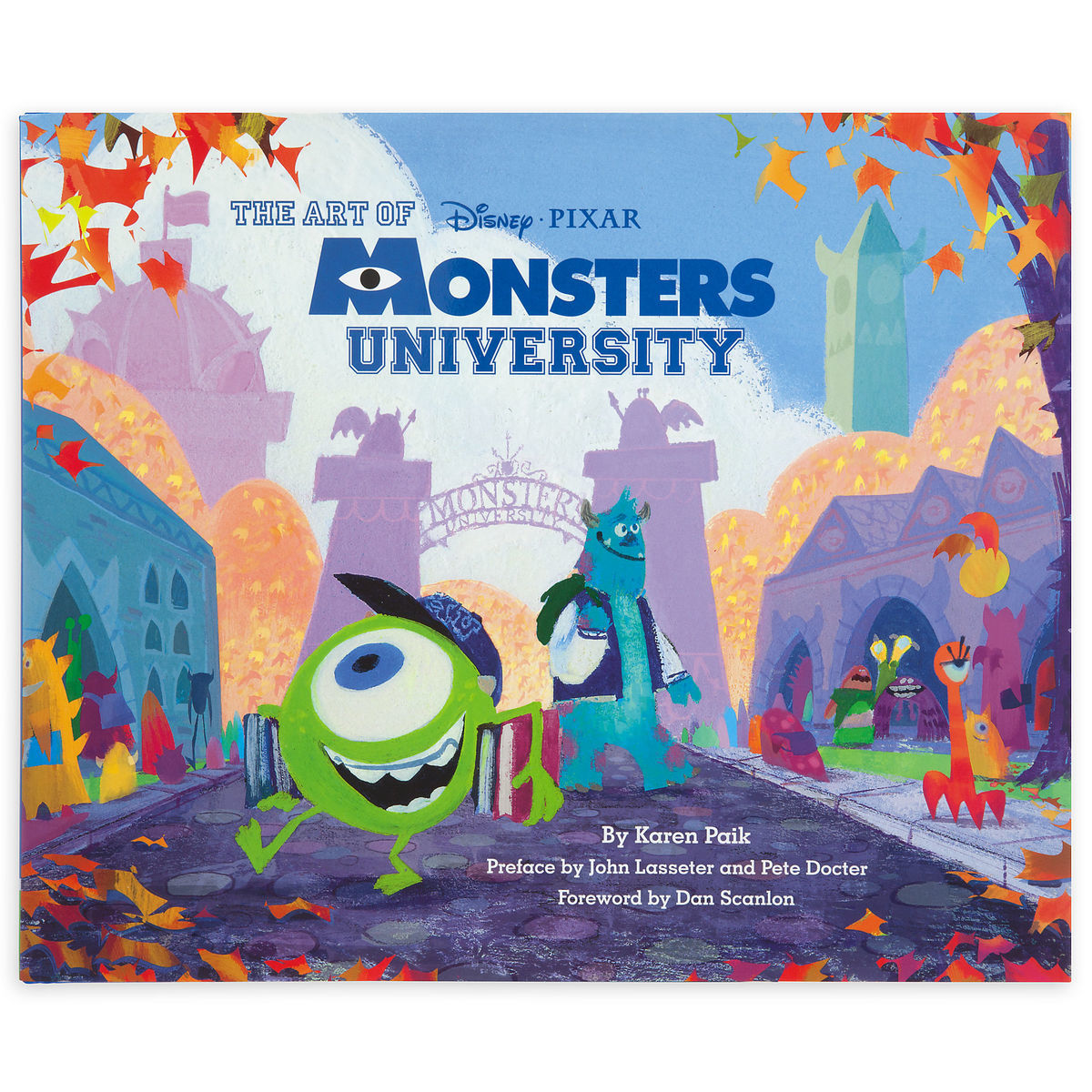 the art of monsters university book shopdisney