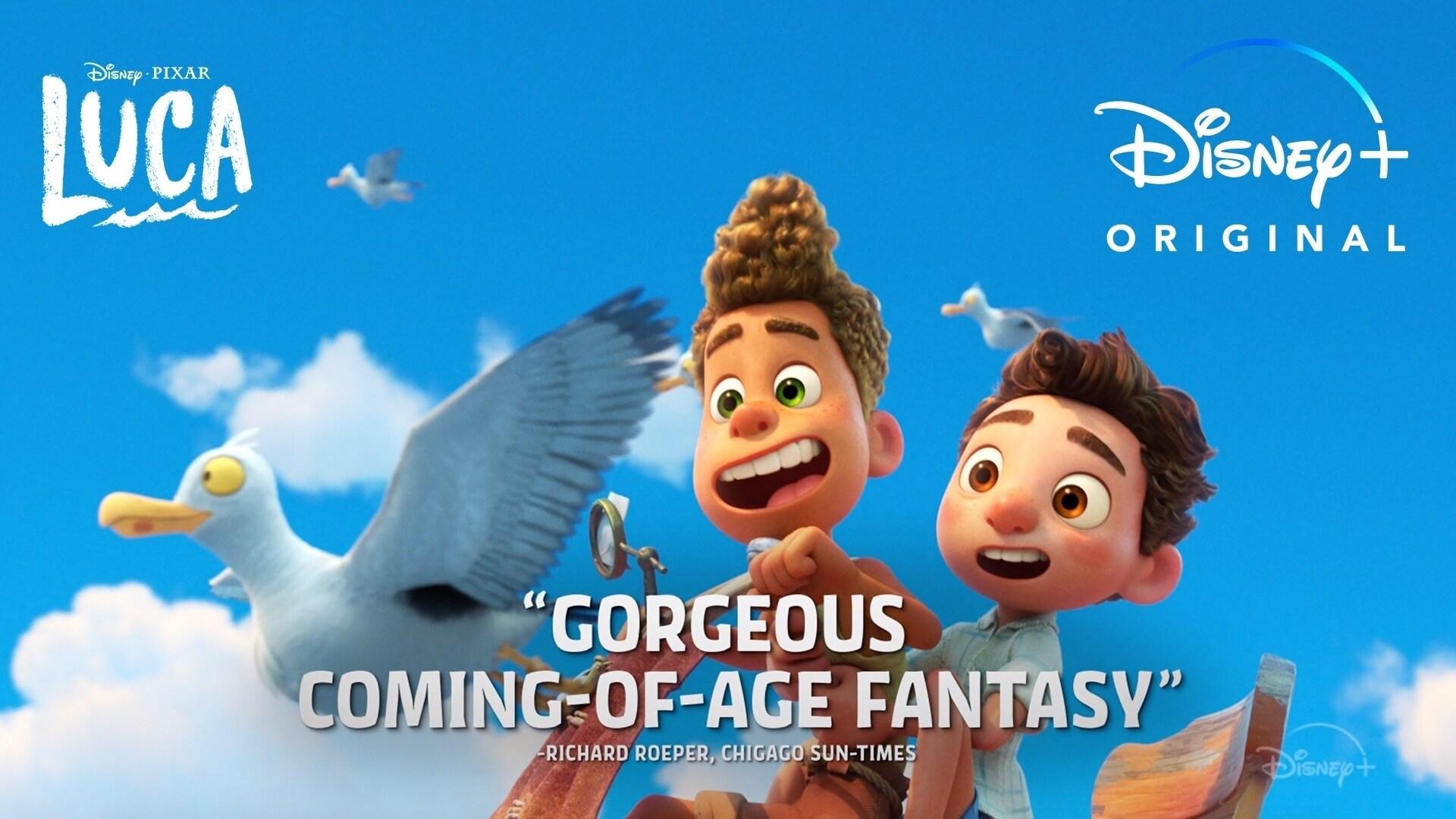 Now Streaming | Disney and Pixar's Luca | Disney+