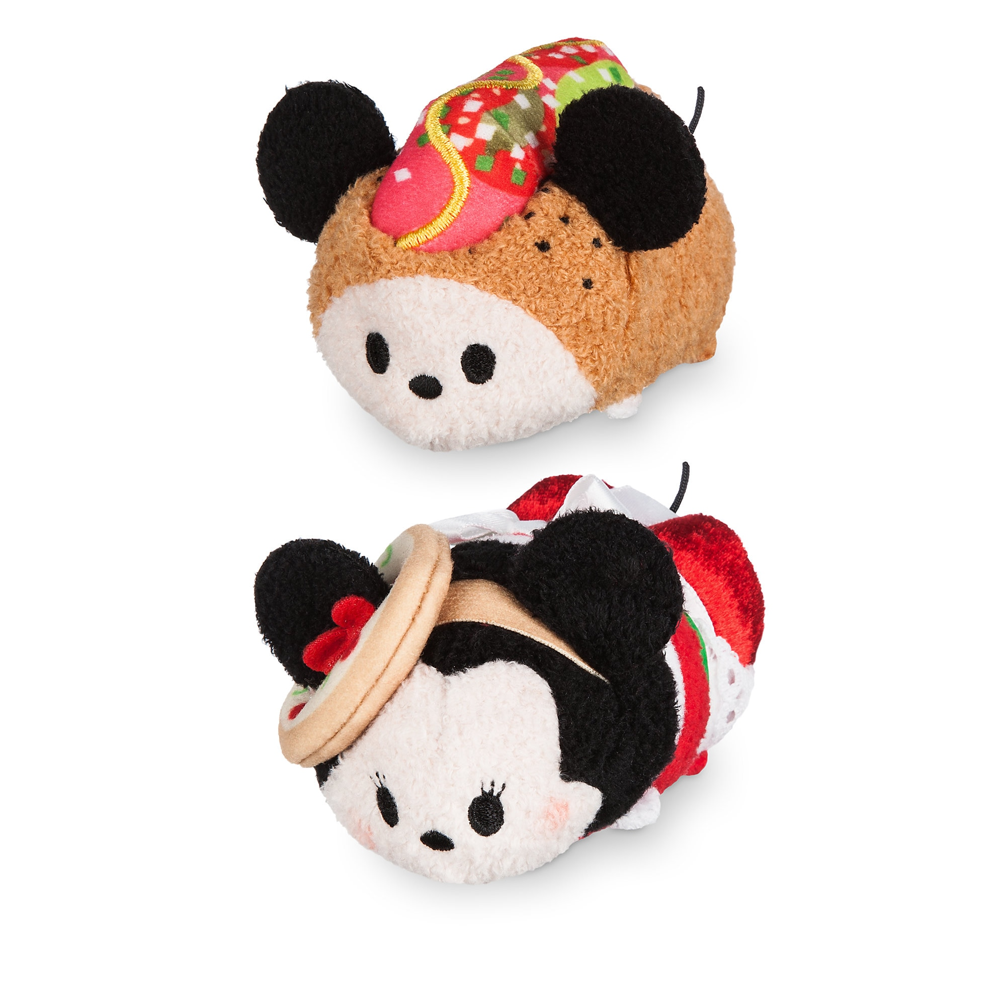 Mickey and Minnie Mouse Tsum Tsum Plush Chicago Set Mini 3 12