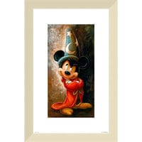 Image of Sorcerer Mickey Mouse Giclée by Darren Wilson # 5