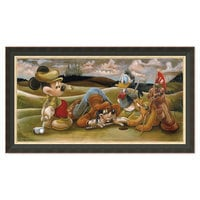 Image of Mickey Mouse and Friends ''On the 18th Green'' Giclée by Darren Wilson # 7