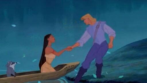 Pocahontas Meets John