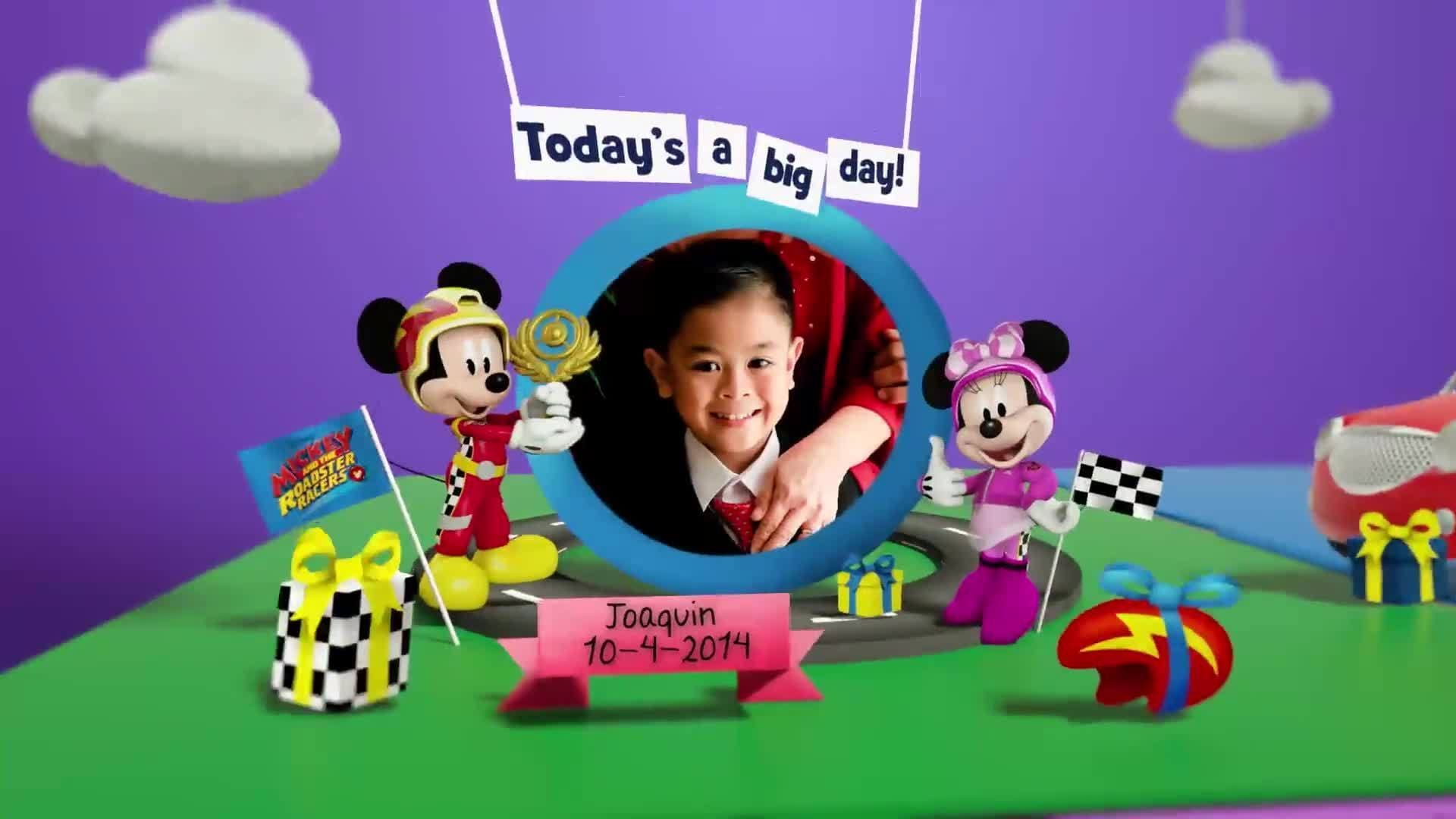 Disney Junior Birthday Book 2020 April Album 1