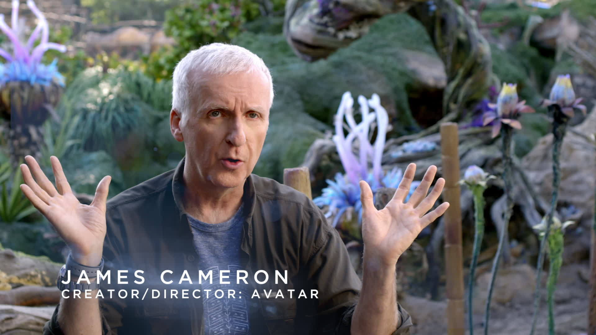 AVATAR Creator/Director James Cameron
