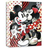 Image of ''Hugs and Kisses'' Giclée on Canvas by Tim Rogerson # 1