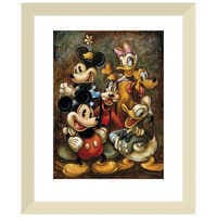 Image of ''Mickey Mouse and Friends'' Giclée by Darren Wilson # 5