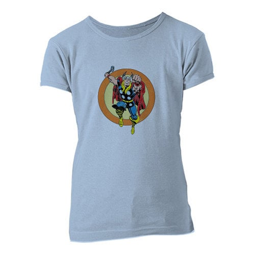 Thor Retro Tee for Girls - Customizable